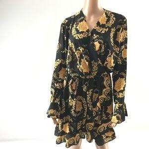 Simply Couture Women's Dress Elastic Waist Sz 2XL